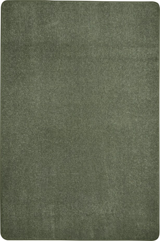 Endurance Green Area Rug Rug Size: Rectangle 8' x 12'