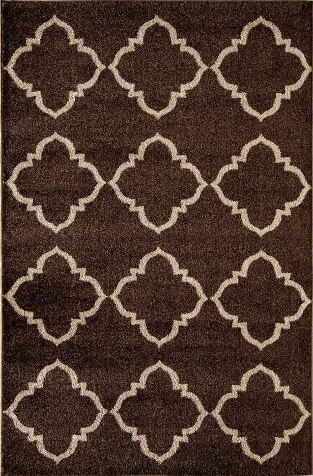 Brown Area Rug Rug Size: Rectangle 7'10
