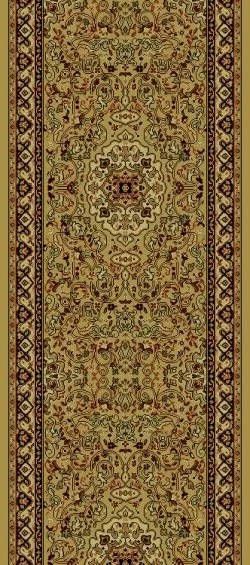Persian Gold Classics Oriental Isfahan Area Rug Rug Size: Runner 2' x 7'7