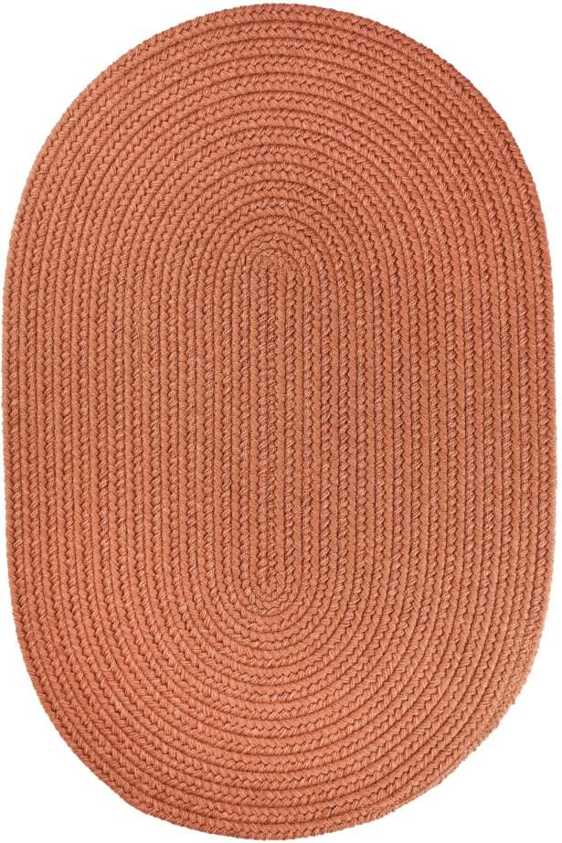 Handmade Almond Indoor/Outdoor Area Rug Rug Size: Oval  8' x 11'