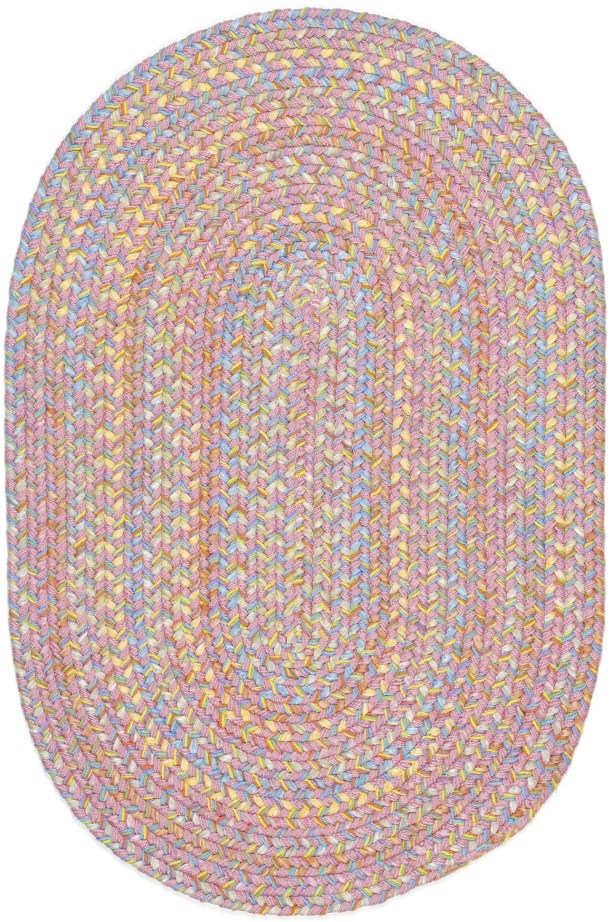 Saidpur Pink Indoor/Outdoor Area Rug Rug Size: Oval 5' x 8'