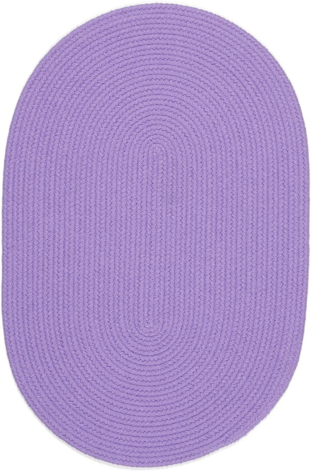 Sainthia Violet Indoor/Outdoor Area Rug Rug Size: Oval 5' x 8'