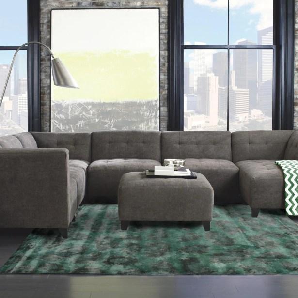 Leith Hand-Tufted Green Area Rug Rug Size: 8' x 11'
