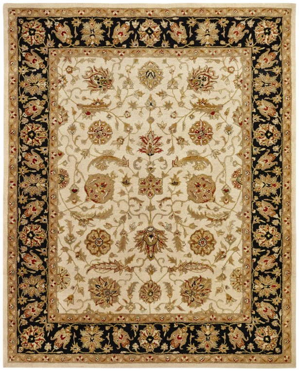 Chad Hand-Woven Brown/Beige Area Rug Rug Size: Rectangle 6' x 9'