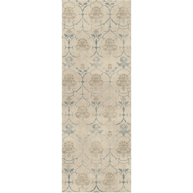 Leyla Creme Indoor/Outdoor Area Rug Rug Size: Runner 2'6