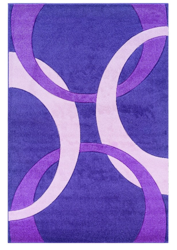 Purple Area Rug Rug Size: Rectangle 8' x 10'3