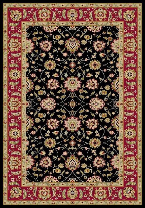Ankara Zeigler Black Rug Rug Size: Rectangle 5'3