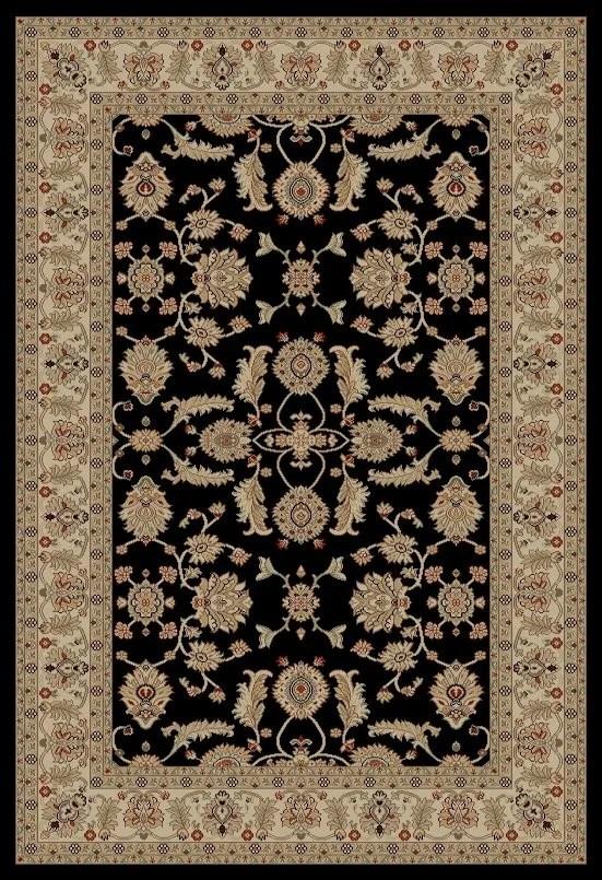 Jewel Antep Black Area Rug Rug Size: Rectangle 6'7