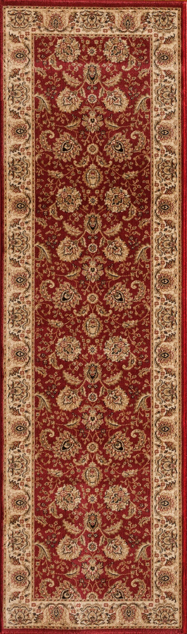 Dexter Red Area Rug Rug Size: Rectangle 5'3
