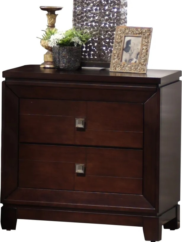 Bethania 2 Drawer Nightstand