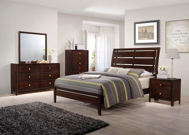 Chara Panel Configurable Bedroom Set