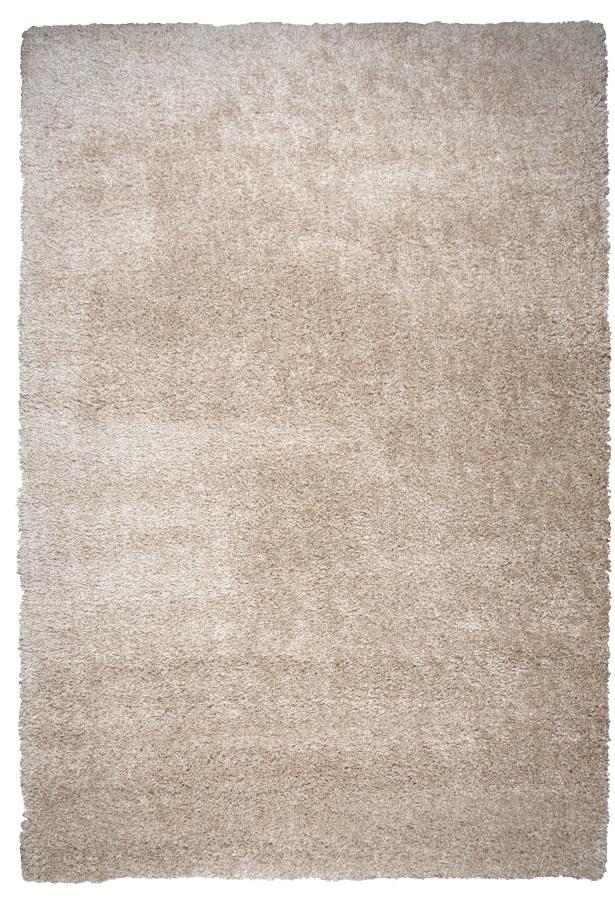 Thalia Beige Shag Area Rug Rug Size: Rectangle 5'3
