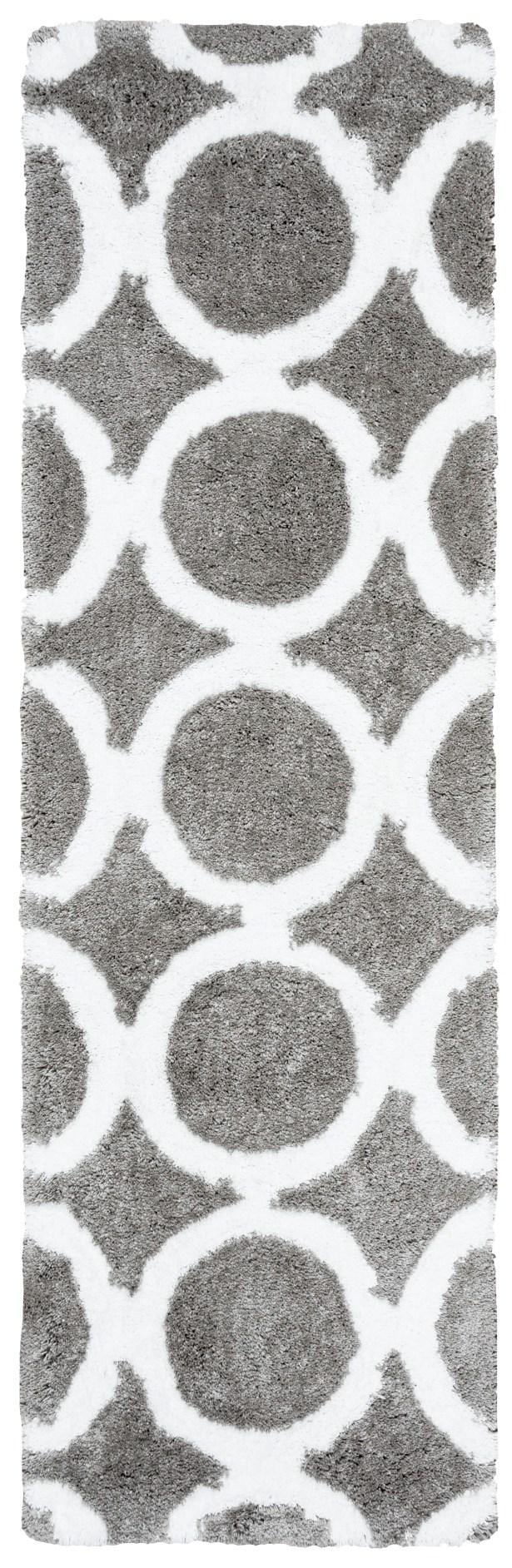Mckinney Hand-Tufted Gray Area Rug Rug Size: Runner 2'6