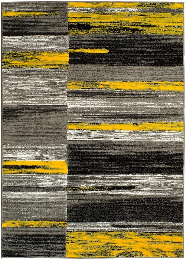 Yellow Area Rug Rug Size: 8' x 10'