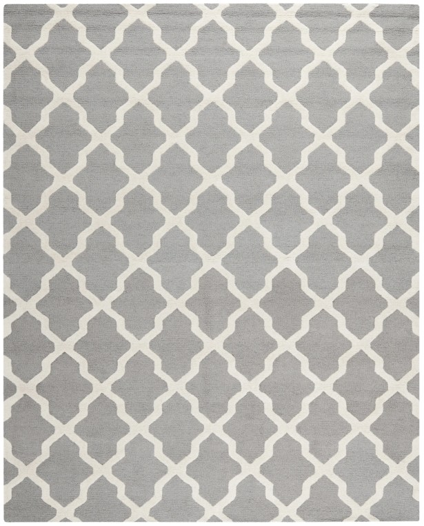 Sugar Pine Hand-Tufted Gray Area Rug Rug Size: Rectangle 8' x 10'