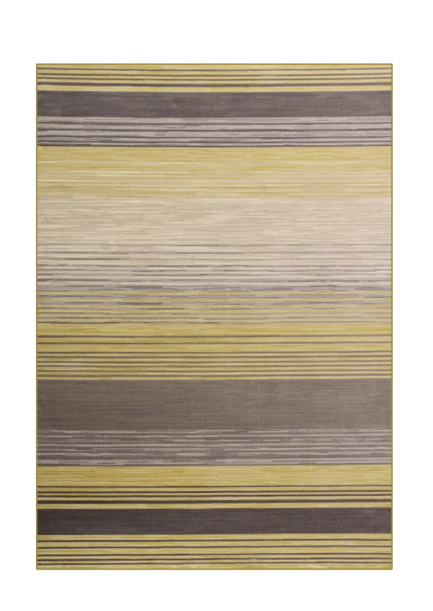 Vassallo Yellow Area Rug Rug Size: 6'7 x 9'6