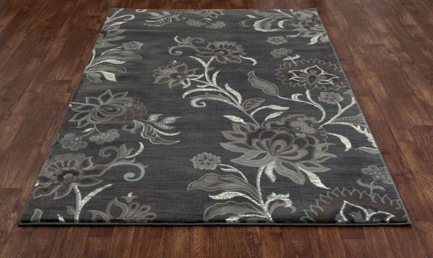 Channel Gray Area Rug Rug Size: 7'10 x 10'10
