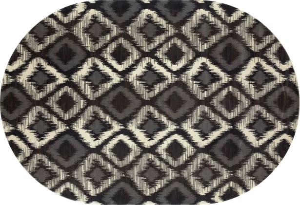 Hershberger Gray Area Rug Rug Size: 3'3 x 4'11