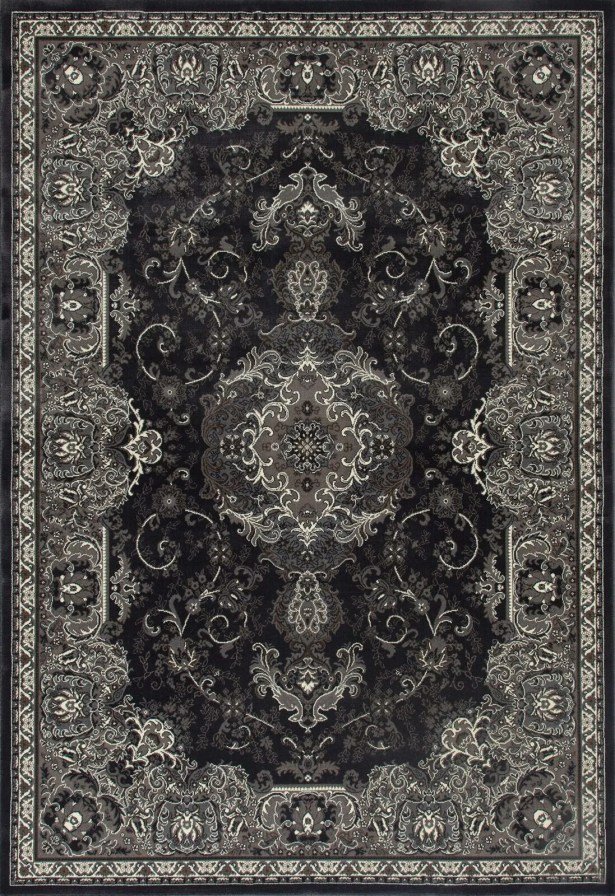 Channel Gray Area Rug Rug Size: 9'10 x 13'1