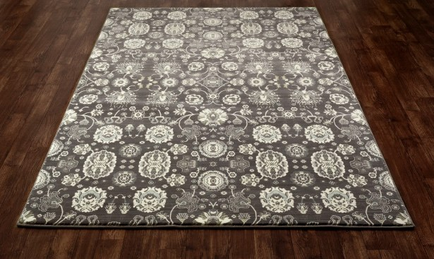 Castellano Gray/Cream Area Rug Rug Size: 9'2 x 13'2