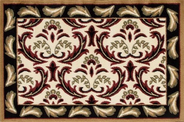Willard Black/Green Area Rug Rug Size: Rectangle 2.7' x 4.1'