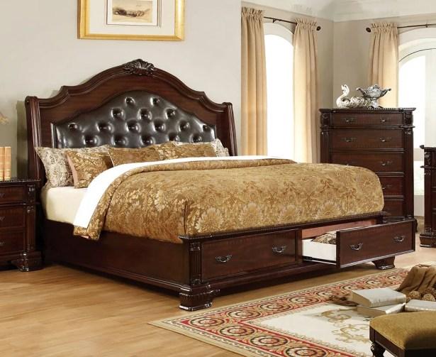 Sierra Upholstered Storage Platform Size: Queen