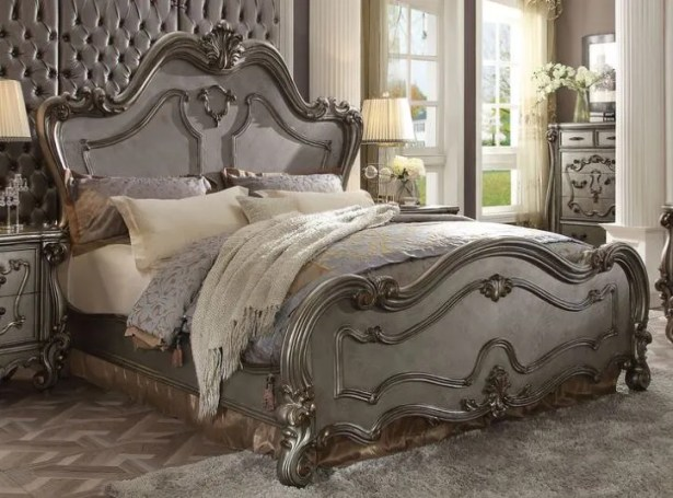 Doline Panel Bed Size: Califonia King
