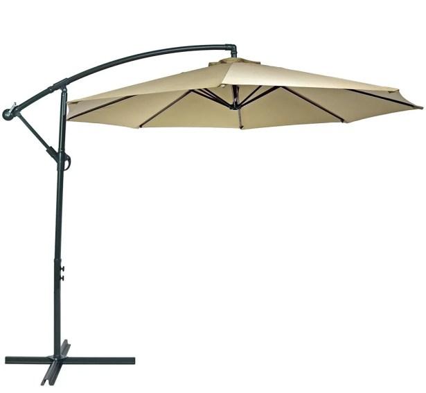 Raymundo 10.5' Cantilever Umbrella Fabric: Beige