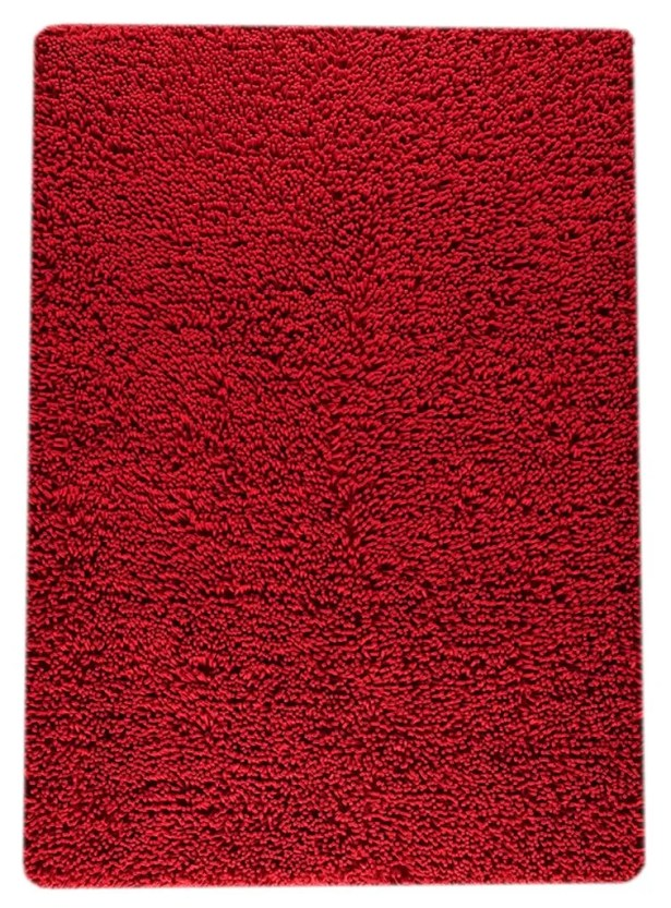 Hogle Hand-Woven Red Area Rug Rug Size: Rectangle 9' x 12'