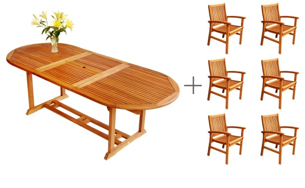 Cadsden 7 Piece Dining Set