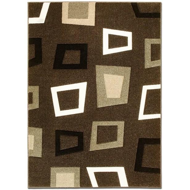Chocolate Area Rug Rug Size: Rectangle 7'9