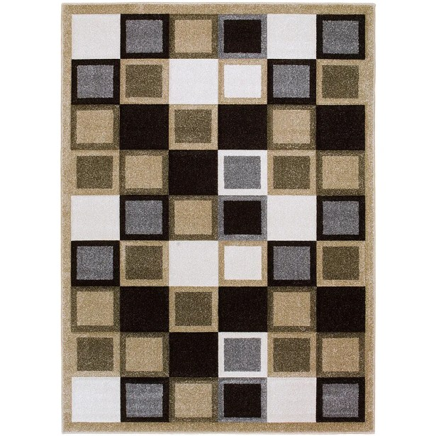 Champagne Area Rug Rug Size: Rectangle 5'2