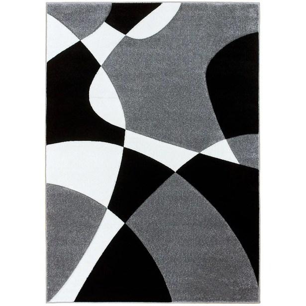 Gray Area Rug Rug Size: Rectangle 7'9