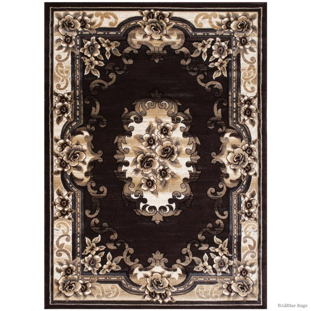 Chocolate Area Rug Rug Size: Rectangle 3'9