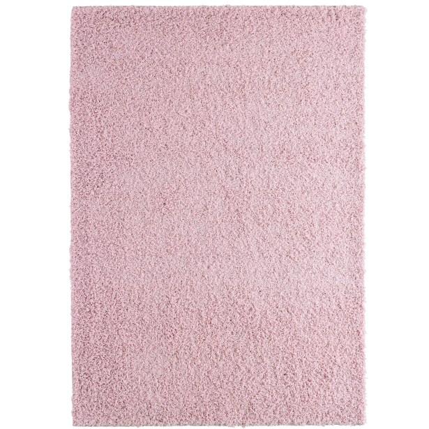 Shag-Ola Pink Area Rug Rug Size: 9' x 12'