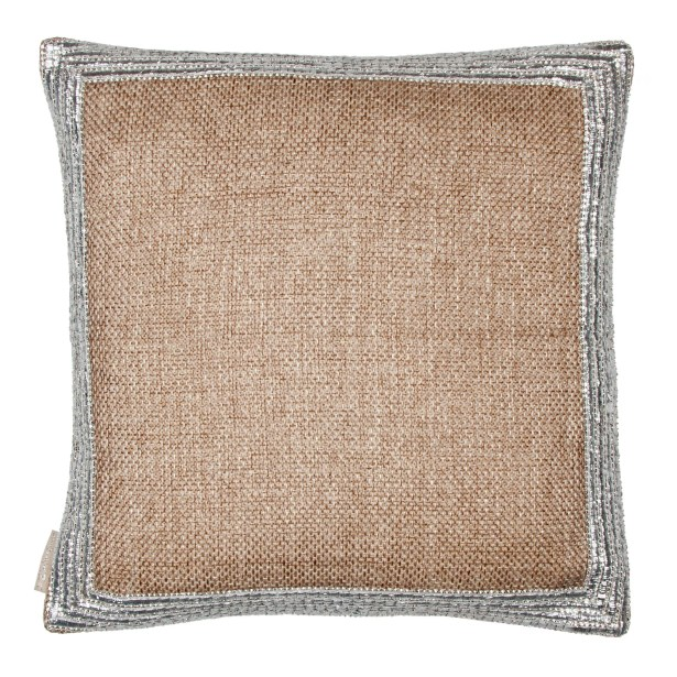 Trim Border Throw Pillow