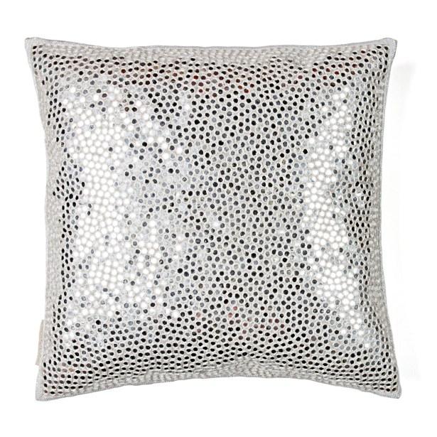 Small Sheesha All Over Shimmer Linen Throw Pillow