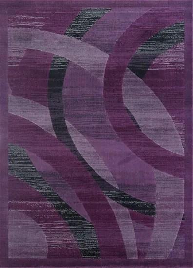 Barnsley Purple Area Rug Rug Size: Rectangle 7'11