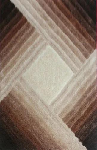 Mauriqua Brown Area Rug Rug Size: 4' x 6'