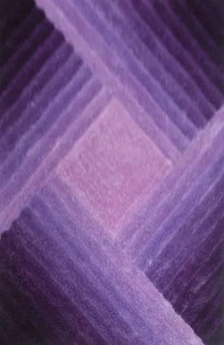 Watt Purple Area Rug Rug Size: 5'3