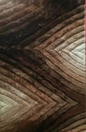 Primm Brown Area Rug Rug Size: 5'3