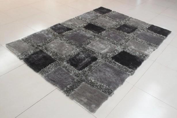 Chimel Gray Area Rug Rug Size: 2' x 3'
