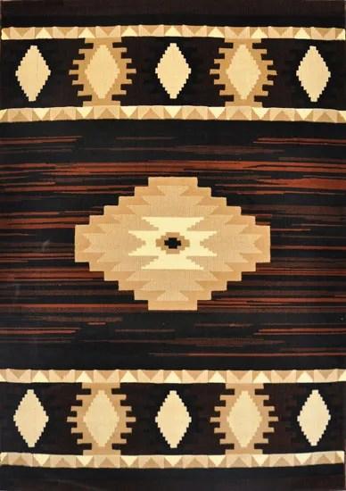 Esmund Black Area Rug Rug Size: 4' x 6'