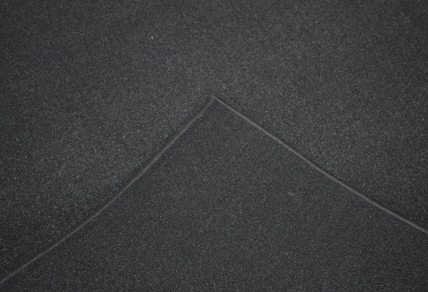 Aly Wool Black Area Rug Rug Size: Rectangle 5'3