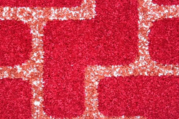 Mcfee Modern Red Area Rug Rug Size: 4' x 6'