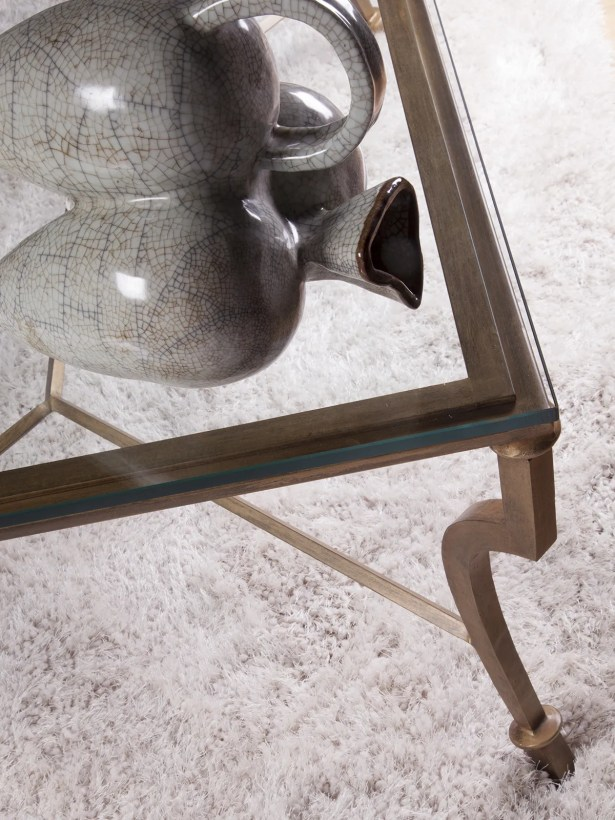 Metal Designs Coffee Table Table Base Color: St. Laurent, Size: 20