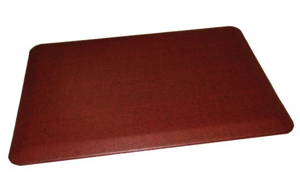 Anti-Fatigue Comfort Kitchen Mat Mat Size: 2' x 6', Color: Deep Red