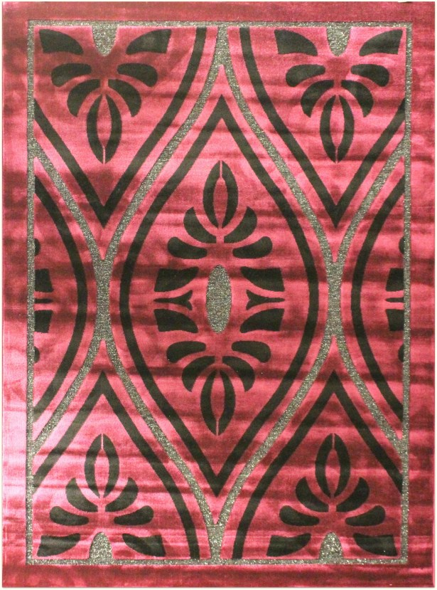 Shonil Purple Area Rug Rug Size: 7'10