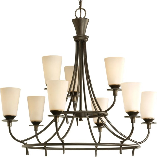 Risha 9-Light Shaded Chandelier
