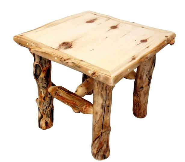 Aspen Grizzly End Table Color: Bronze Aspen